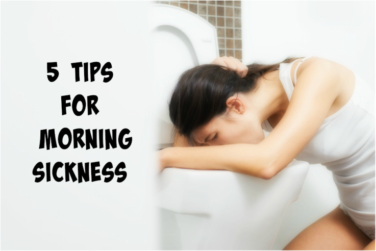 5 tips for morning sickness